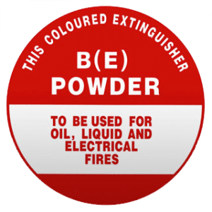 fire extinguisher powder is used for oil liquid and electrical fires